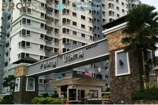 For Sale Condominium at Pelangi Utama, Bandar Utama Freehold Semi Furnished 3R/2B 550k