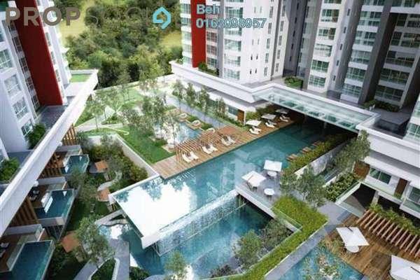 For Sale Condominium at Seringin Residences, Kuchai Lama Freehold Semi Furnished 3R/3B 800k