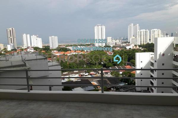 For Rent Apartment at Pearlvue Heights, Tanjung Tokong Freehold Semi Furnished 3R/2B 1.2k