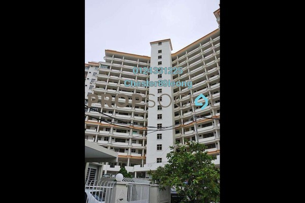For Rent Apartment at Taman Evergreen, Tanjung Tokong Freehold Semi Furnished 3R/2B 1k