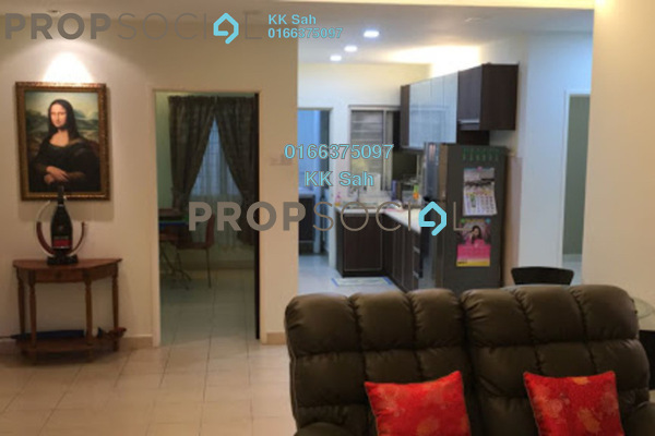 For Sale Apartment at Kasuarina Apartment, Klang Freehold Semi Furnished 3R/2B 298k