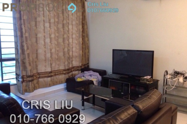 For Rent SoHo/Studio at Casa Tiara, Subang Jaya Freehold Fully Furnished 1R/1B 1.8k