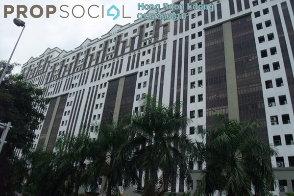 For Rent Office at Damansara Intan, Petaling Jaya Freehold Fully Furnished 0R/2B 3k