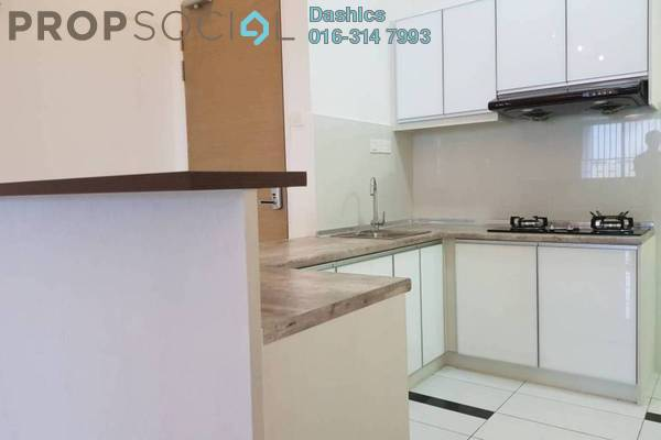 For Rent Condominium at Skypod, Bandar Puchong Jaya Freehold Semi Furnished 2R/2B 1.5k