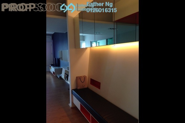 For Rent Serviced Residence at i-Zen Kiara I, Mont Kiara Freehold Fully Furnished 2R/2B 2.9k