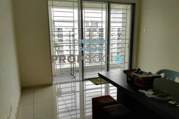For Rent Condominium at Platinum Lake PV20, Setapak Freehold Semi Furnished 4R/2B 1.8k