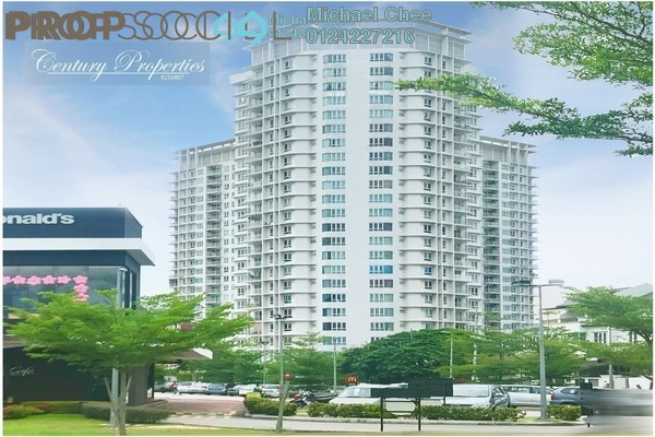 For Rent Condominium at The Spring, Jelutong Freehold Fully Furnished 3R/2B 1.6k