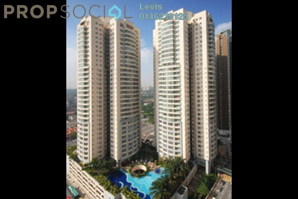 For Rent Condominium at Suasana Sentral Condominium, KL Sentral Freehold Semi Furnished 3R/2B 4k