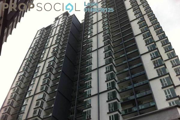 For Rent Condominium at 222 Residency, Setapak Freehold Semi Furnished 2R/2B 1.5k