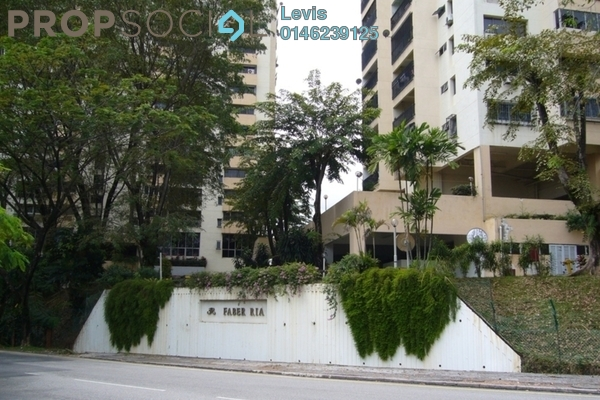 For Rent Condominium at Faber Ria, Taman Desa Freehold Fully Furnished 2R/2B 1.5k