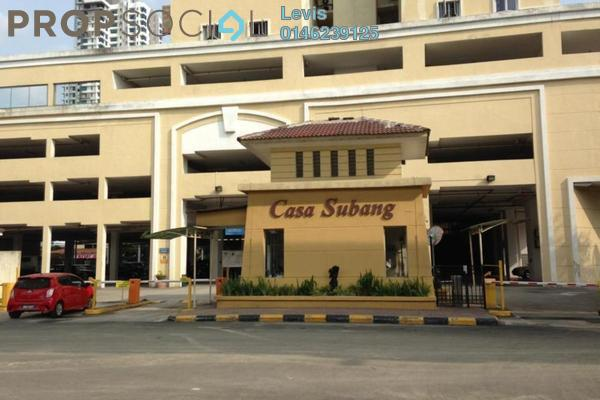 For Rent Condominium at Casa Subang, UEP Subang Jaya Freehold Fully Furnished 3R/2B 1.3k