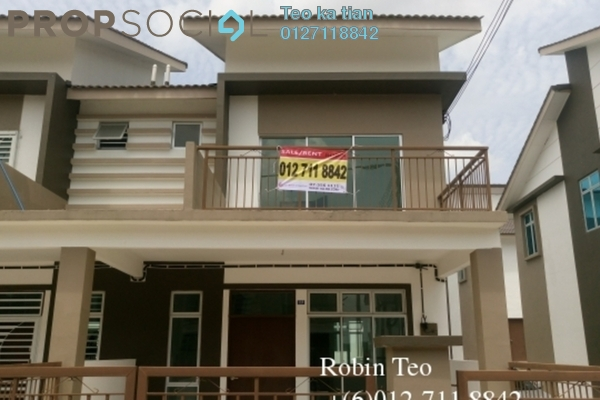 For Sale Terrace at The Senai Garden, Senai Freehold Unfurnished 4R/3B 330k