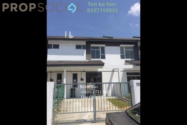For Rent Terrace at Nusa Bayu, Iskandar Puteri (Nusajaya) Freehold Unfurnished 4R/3B 1.2k