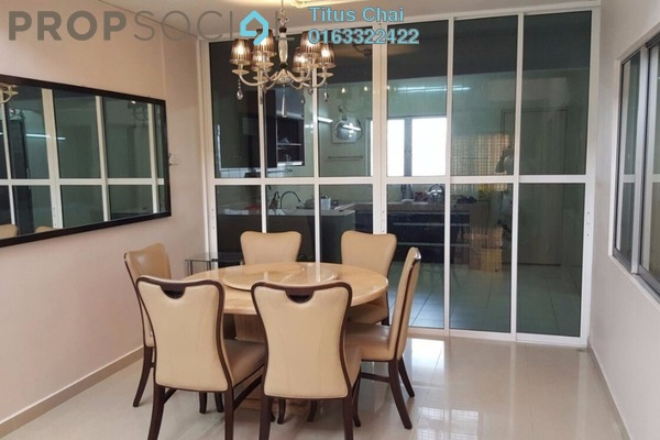 For Rent Terrace at Taman Taynton View, Cheras Freehold Semi Furnished 3R/2B 1.8k