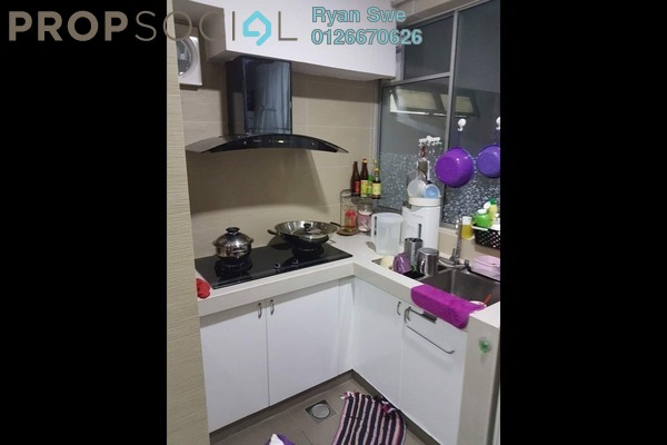 For Sale Apartment at Suria KiPark Damansara, Kepong Freehold Semi Furnished 3R/2B 378k
