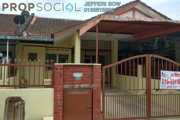 For Rent Terrace at Taman Wilayah Selayang, Selayang Freehold Semi Furnished 3R/2B 2k