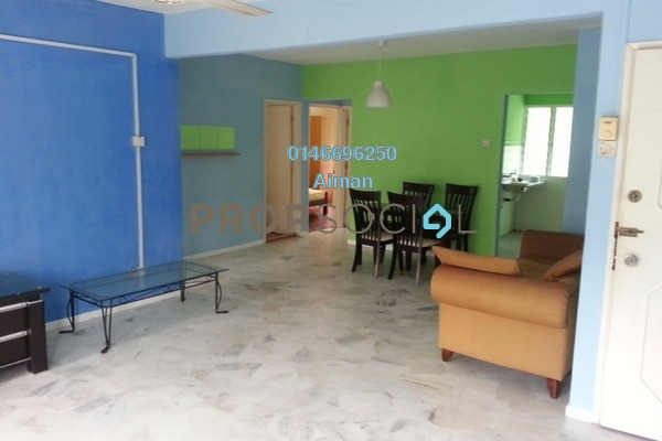 For Sale Apartment at Riverdale Park, Bukit Antarabangsa Freehold Semi Furnished 2R/2B 190k