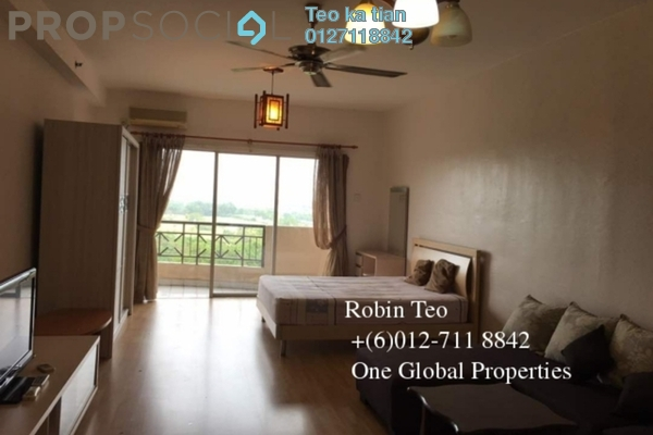 For Rent Serviced Residence at Taman Johor Jaya, Johor Bahru Freehold Fully Furnished 0R/1B 1.1k