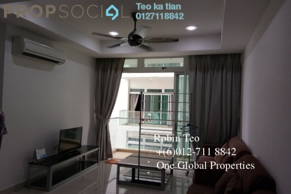 For Rent Condominium at KSL Residences @ Daya, Johor Bahru Freehold Fully Furnished 3R/2B 2.9k