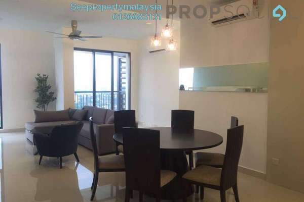 For Rent Condominium at Shamelin Star Serviced Residences, Cheras Freehold Fully Furnished 3R/3B 3k