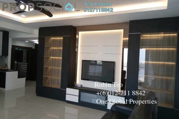 For Rent Condominium at Johor Bahru City Square, Johor Bahru Freehold Fully Furnished 3R/2B 4k