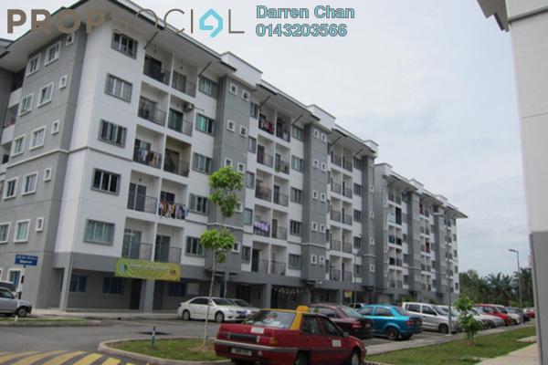 For Sale Apartment at Green Villa Apartment, Kajang Freehold Semi Furnished 3R/2B 300k