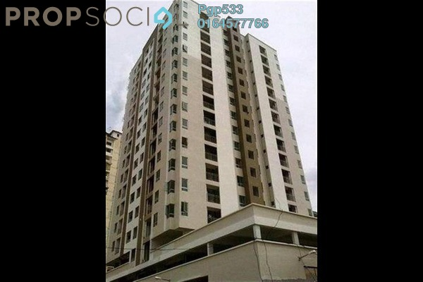 For Rent Apartment at Damai Vista, Green Lane Freehold Semi Furnished 3R/2B 1k