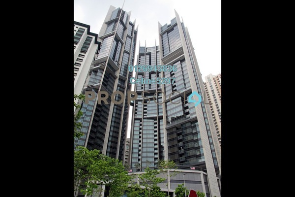 For Rent Condominium at The Troika, KLCC Freehold Semi Furnished 3R/4B 9.5k