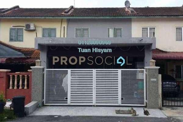 For Sale Terrace at Taman Cheras Jaya, Balakong Leasehold Semi Furnished 3R/2B 408k