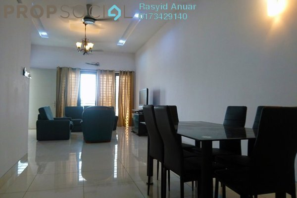For Rent Terrace at Tenun, Alam Impian Freehold Fully Furnished 4R/5B 2.5k