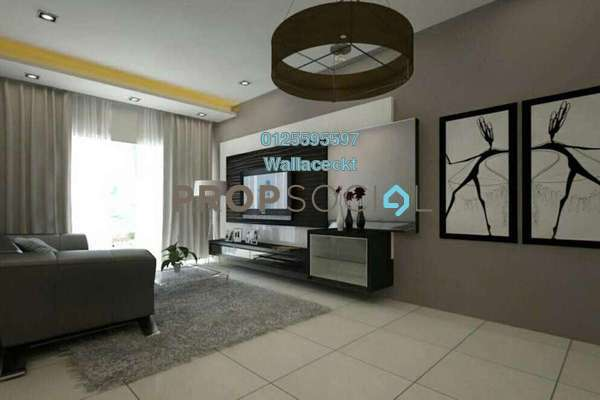 For Sale Condominium at Boulevard Condominium, Air Itam Freehold Fully Furnished 3R/2B 690k