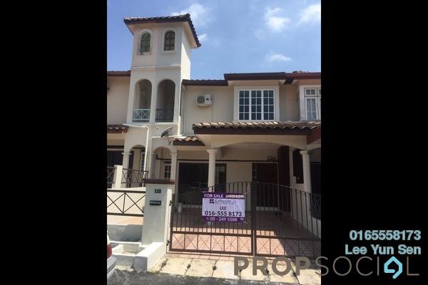 For Sale Terrace at Medan Lapangan Lagenda, Ipoh Freehold Semi Furnished 4R/3B 290k