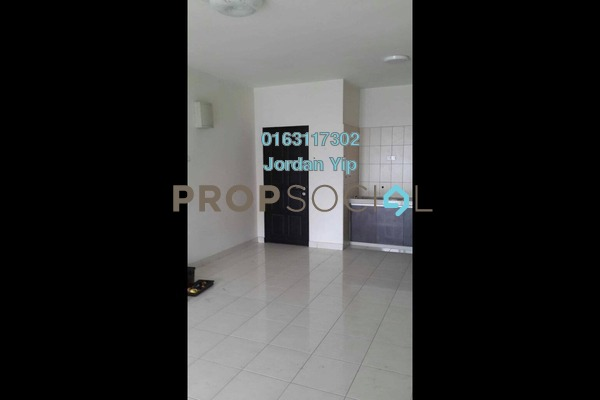 For Rent Condominium at Indah Alam, Shah Alam Freehold Semi Furnished 2R/1B 1.3k
