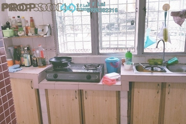 For Sale Condominium at Happy Garden, Old Klang Road Freehold Semi Furnished 3R/2B 630k