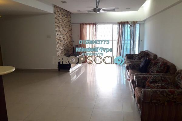 For Sale Condominium at Idaman Puteri, Setapak Freehold Fully Furnished 4R/3B 575k
