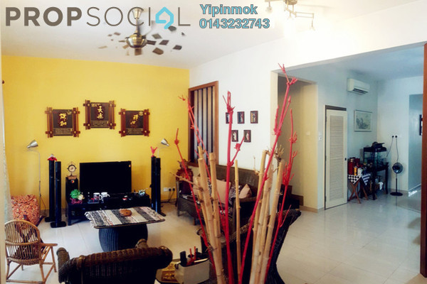 For Sale Terrace at SouthLake, Desa ParkCity Freehold Semi Furnished 3R/3B 1.95m