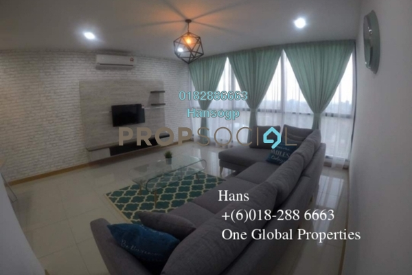 For Rent Serviced Residence at KL Gateway, Bangsar South Leasehold Fully Furnished 2R/2B 3.65k