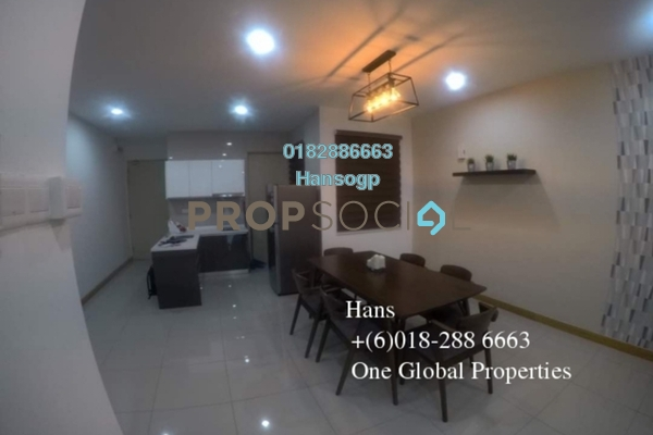 For Rent Condominium at KL Gateway, Bangsar South Leasehold Fully Furnished 2R/2B 3.45k