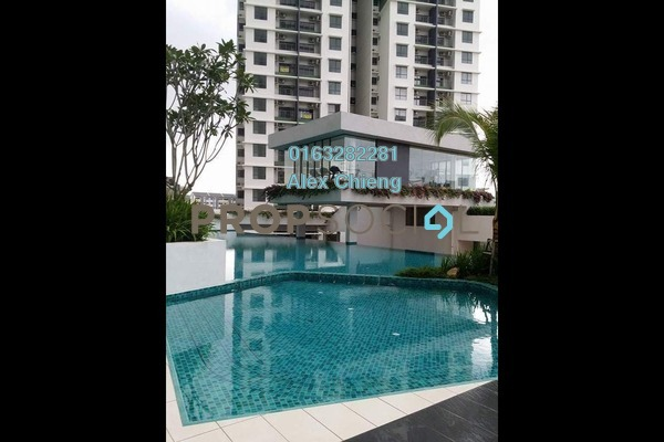For Sale Condominium at Ivory Residence, Kajang Freehold Semi Furnished 3R/2B 400k