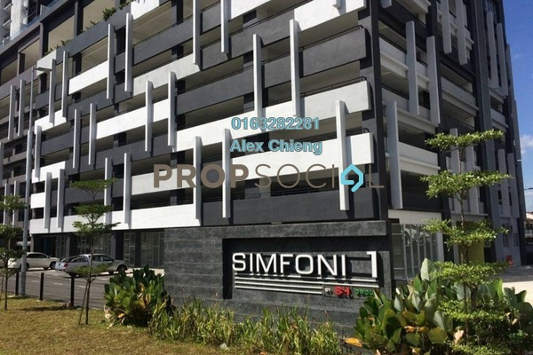 For Sale Condominium at Symphony Residence, Kajang Freehold Unfurnished 3R/2B 360k