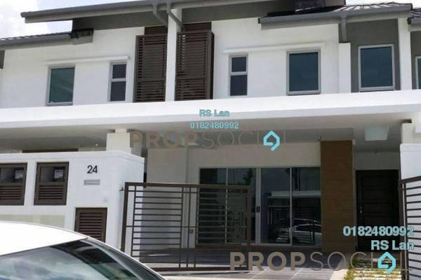 For Sale Terrace at Serissa Terrace, Denai Alam Freehold Semi Furnished 4R/5B 850k