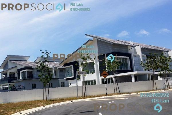 For Sale Terrace at Linea, Bandar Enstek Freehold Unfurnished 4R/4B 1.02m