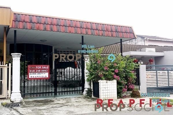 For Sale Terrace at Taman Seri Melati, Selayang Freehold Semi Furnished 3R/2B 530k