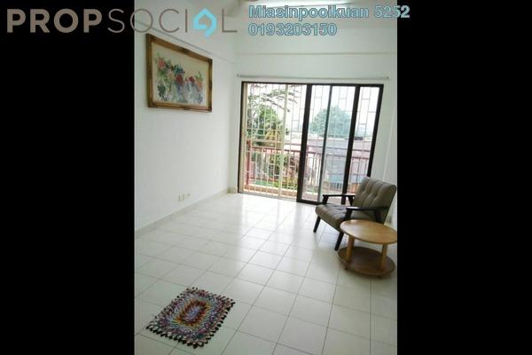 For Rent Condominium at Glen View Villa, Cheras Freehold Semi Furnished 3R/2B 1.3k