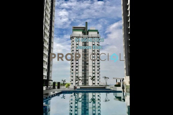 For Sale Condominium at V-Residensi 2, Shah Alam Freehold Semi Furnished 3R/3B 590k
