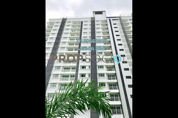 For Rent Condominium at V-Residensi 2, Shah Alam Freehold Semi Furnished 3R/3B 1.8k
