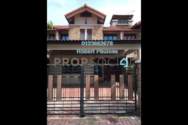 For Sale Terrace at Kubah, Bukit Jelutong Freehold Fully Furnished 6R/5B 1.18m