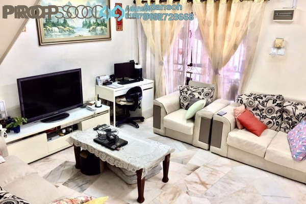 For Sale Terrace at Taman Jinjang Baru, Jinjang Freehold Semi Furnished 4R/3B 575k