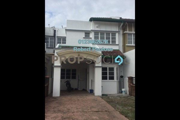 For Sale Terrace at Kubah, Bukit Jelutong Freehold Fully Furnished 4R/3B 880k