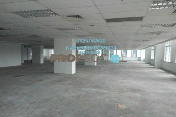 For Rent Office at Plaza Sentral, KL Sentral Freehold Unfurnished 1R/1B 45k